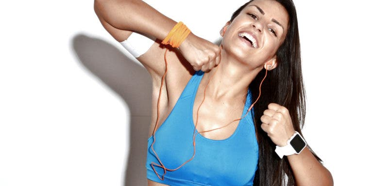 Circuito de ejercicios de torso para mujeres
