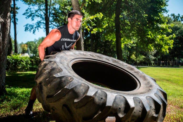 Guía para entrenar con neumáticos