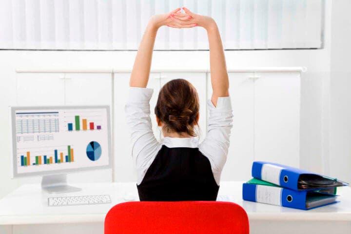 Hábitos saludables antes de comenzar a trabajar
