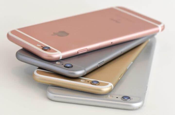 ¿En qué colores viene el iPhone 6?