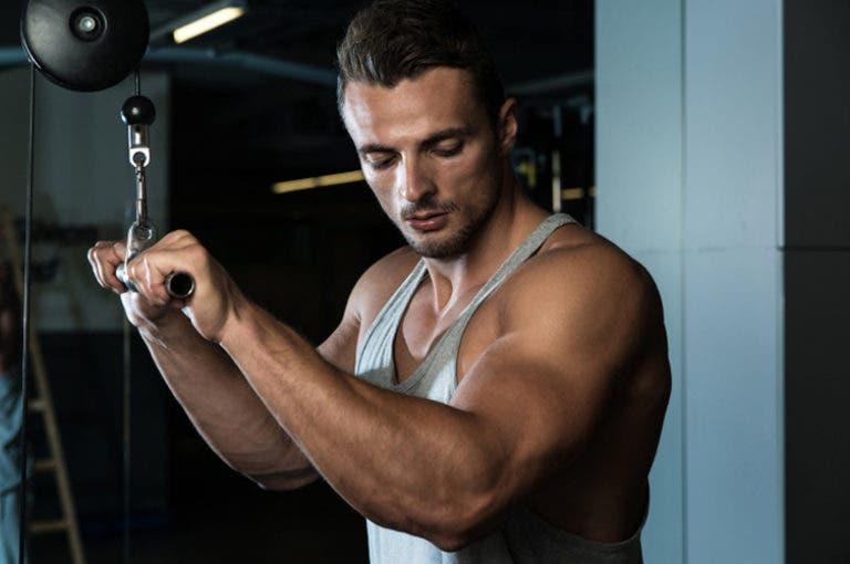 Cómo entrenar los músculos bilaterales de los brazos