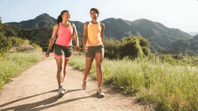 Cómo quemar más calorías andando