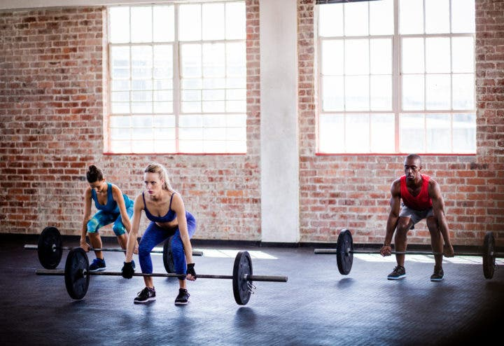 Cómo respirar si hacemos ejercicios de fuerza