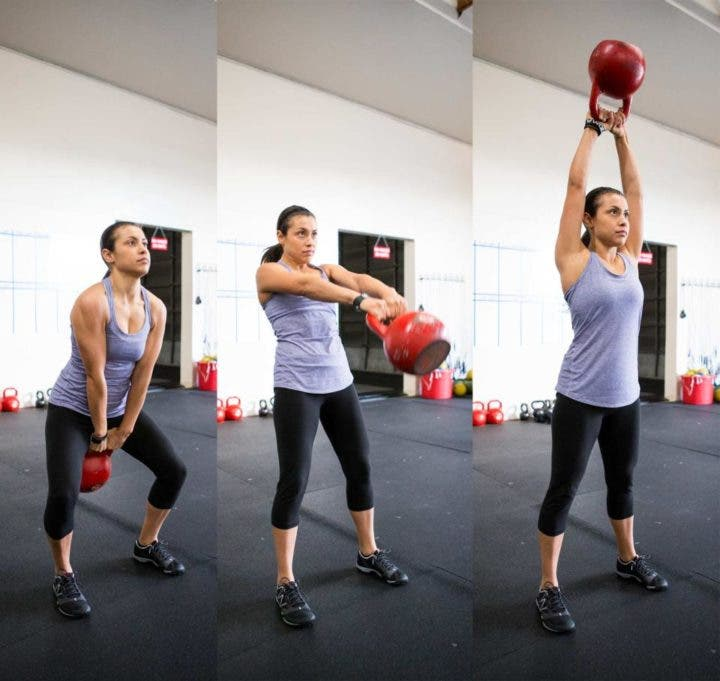 Cómo ejecutar el swing americano en CrossFit