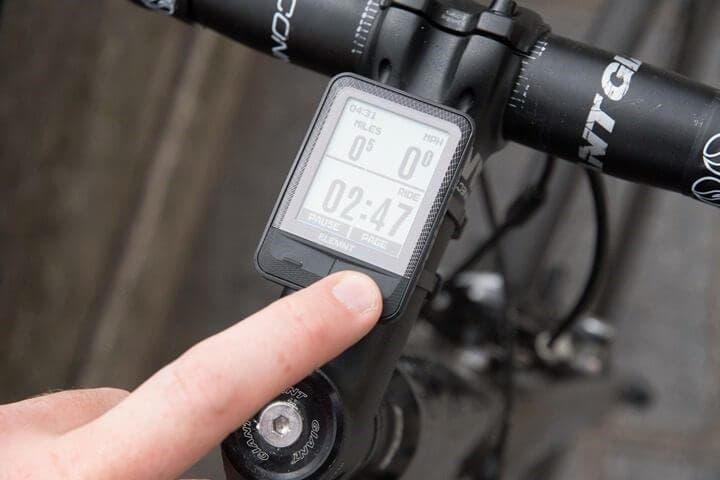 Computadora inalámbrica para ciclistas