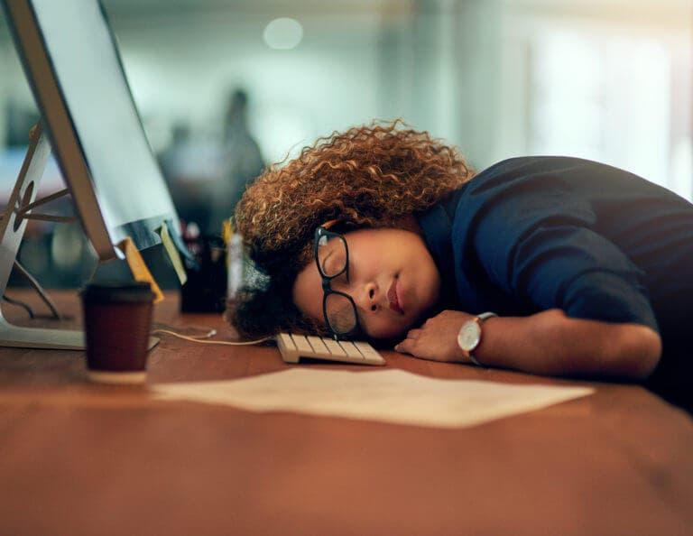 Cansancio luego de dormir toda la noche