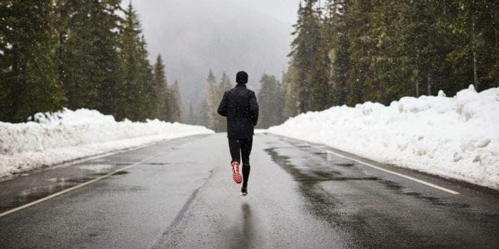 Bajar la intensidad de entrenamiento de running durante el invierno