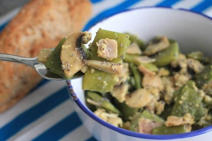 Receta de ensalada de judías verdes