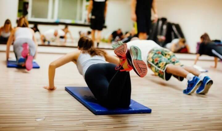 Las personas en forma no complican su entrenamiento