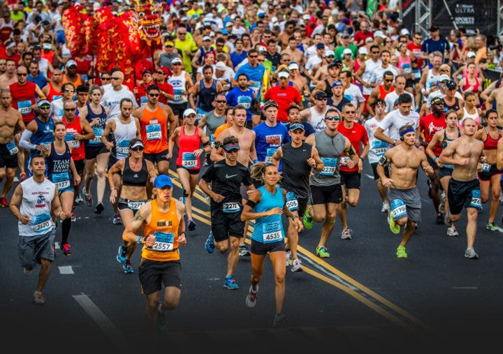 Participar en una carrera de running en 2018