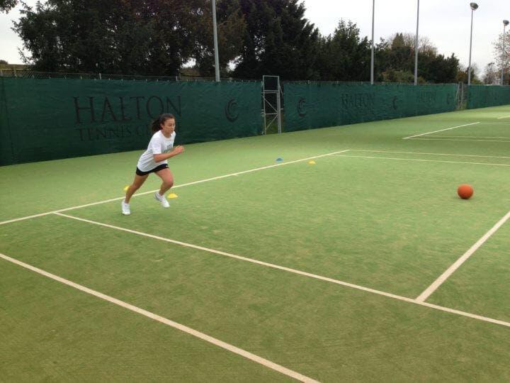 Cómo entrenar la velocidad en tenistas