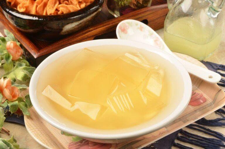gelatina pura para proteger articulaciones