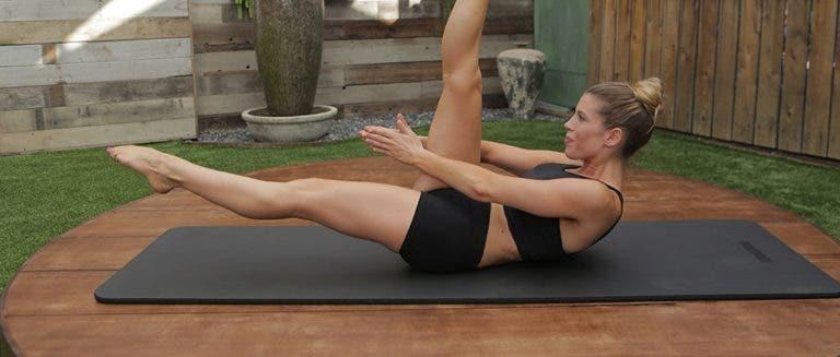 Ejercicios de pilates para el transverso del abdomen