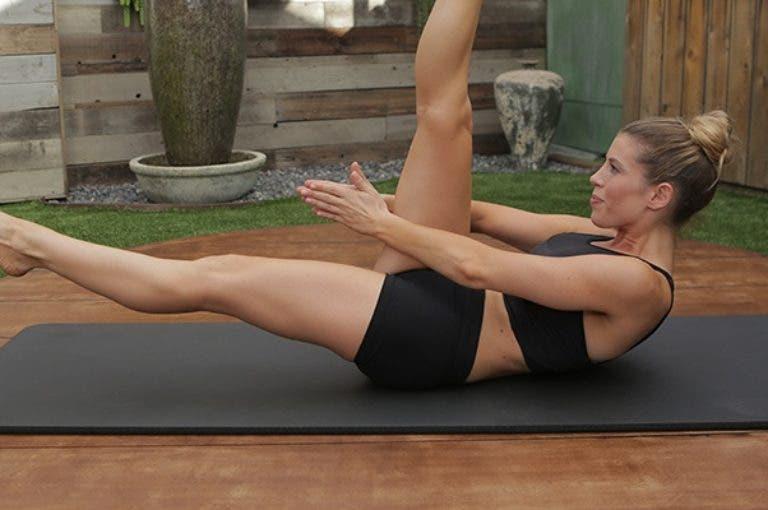 4 ejercicios de pilates para fortalecer el transverso del abdomen