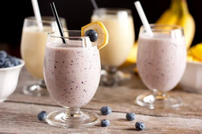Tomar smoothies antes de hacer ejercicio