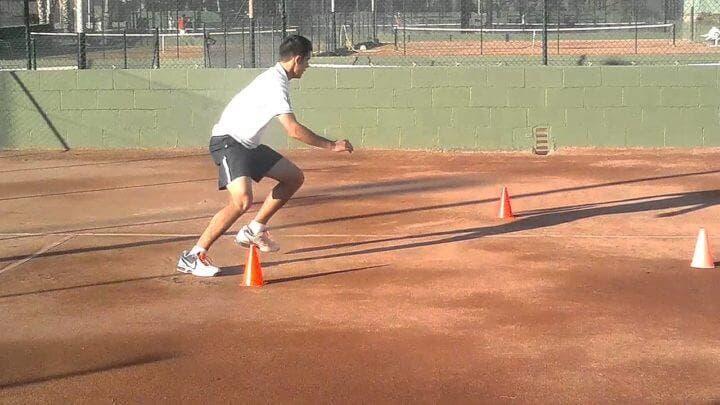 Entrenamiento de aceleración para tenistas