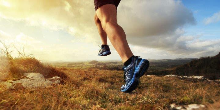Zancada correcta para trail running