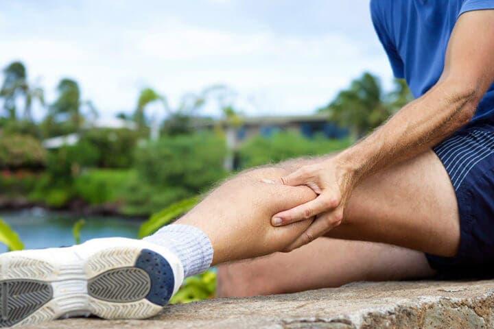 Los calambres musculares son una señal de deshidratación
