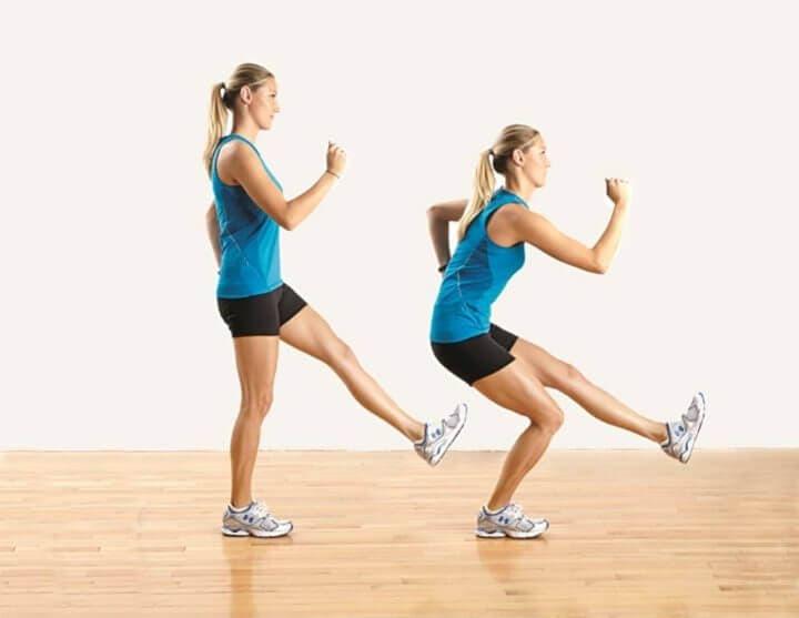Ejercicios de una sola pierna para entrenar tu equilibrio