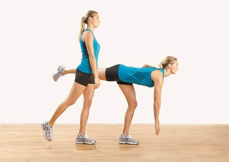 Ejercicios de una pierna unilaterales para entrenar tu equilibrio