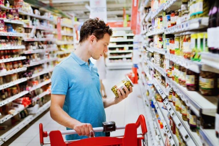 Entender etiquetas nutricionales
