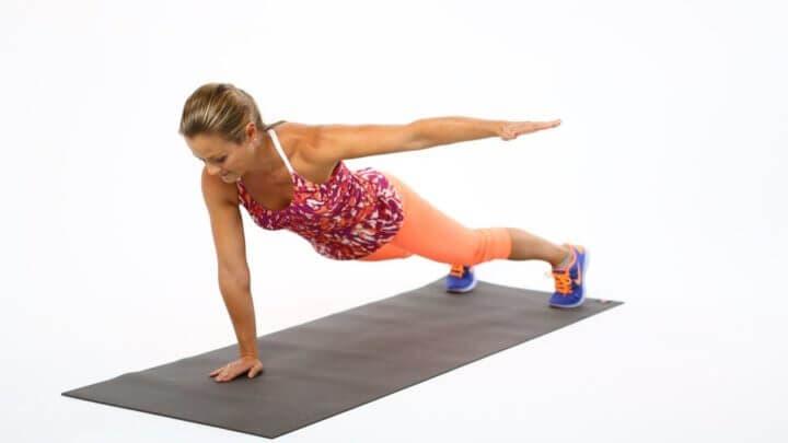 Variantes de planchas para hacer más duro tu core