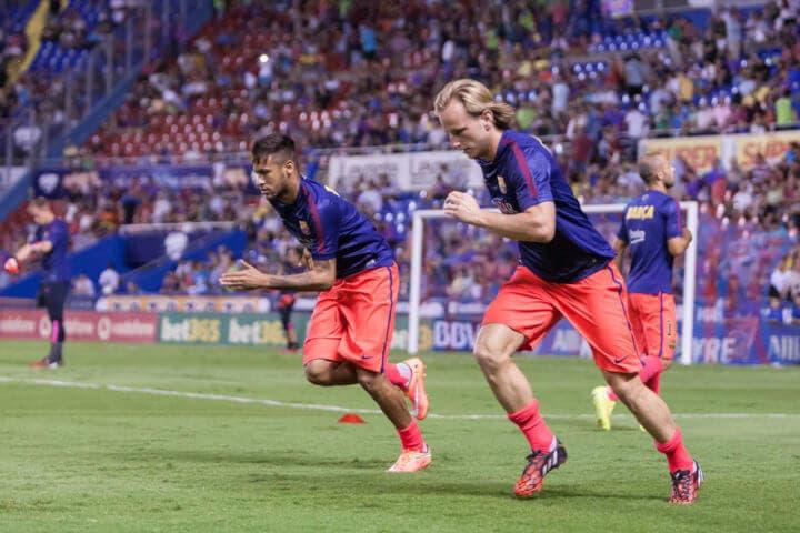 Ejercicios para entrenar la velocidad en futbolistas