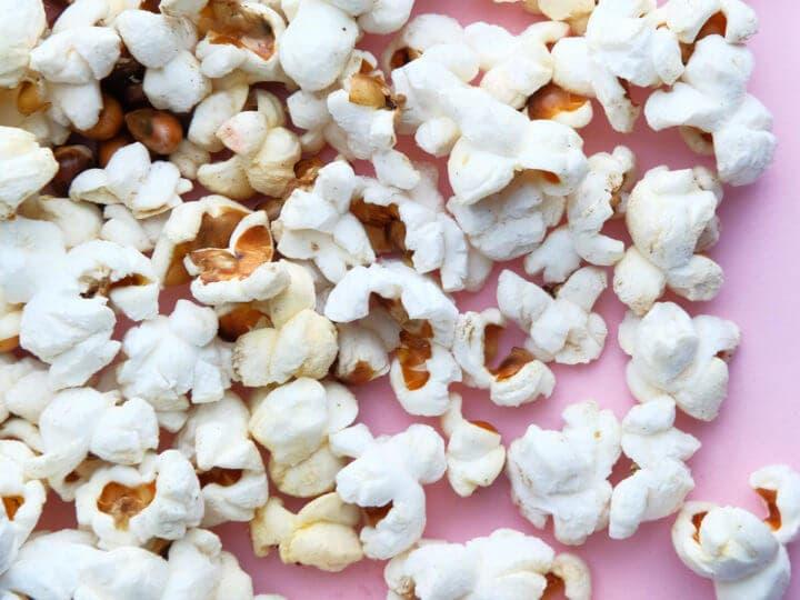 Las palomitas de maíz son un carbohidrato saludable