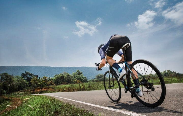 Rutina para ciclistas para tener glúteos fuertes