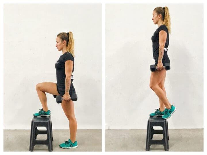 Ejercicios sobre una pierna para mejorar tu equilibrio en bicicleta