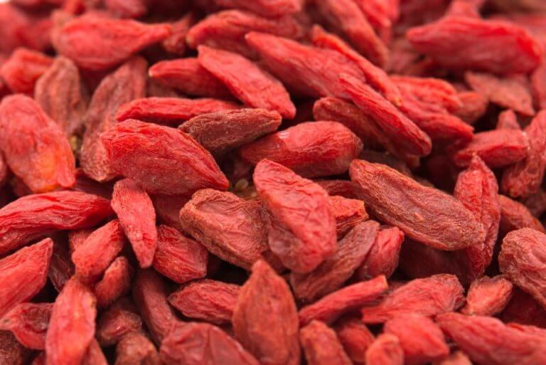 ¿Cuántos antioxidantes tienen las bayas de Goji?