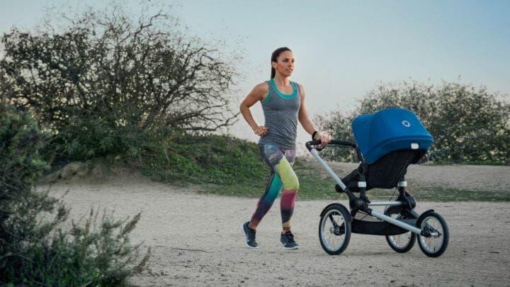 Carrito seguro y de calidad para practicar running