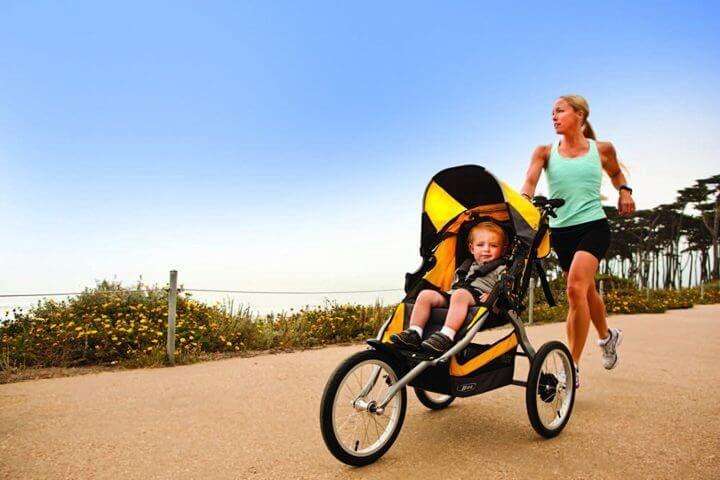 Carritos seguros para practicar running con tu hijo