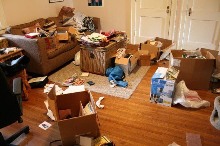 Una casa desordenada influye en tus hábitos alimenticios