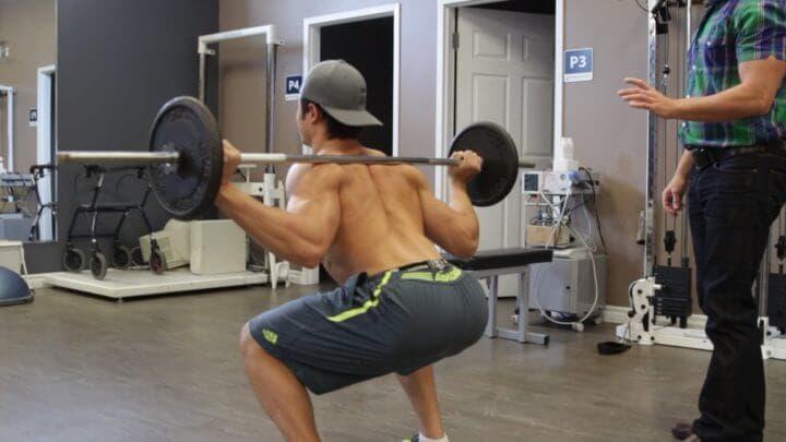 Relación del entrenamiento con pesas con el dolor lumbar