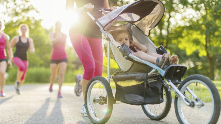 Carrito para caminar o correr con tu hijo