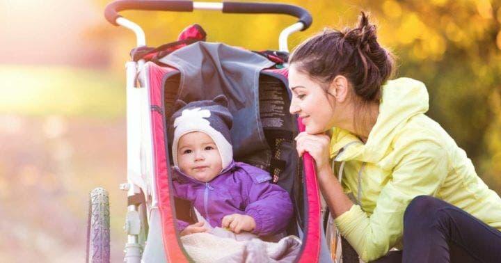 Guía para comprar carrito para hacer running con tu hijo