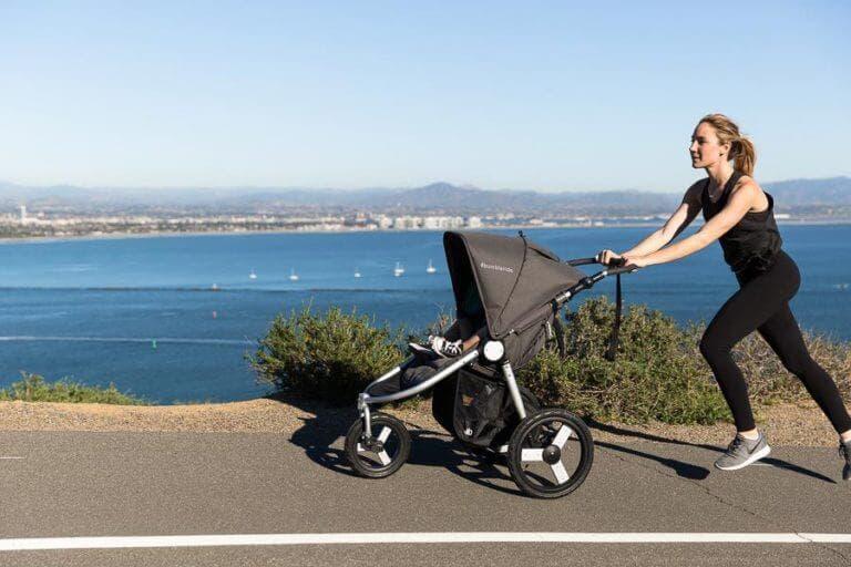 Entrenamiento de running con tu bebé