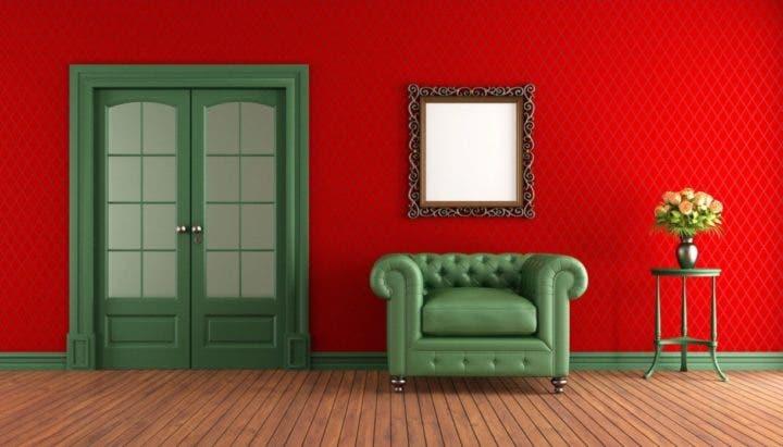 Pintar tus paredes de rojo hará que tengas más hambre