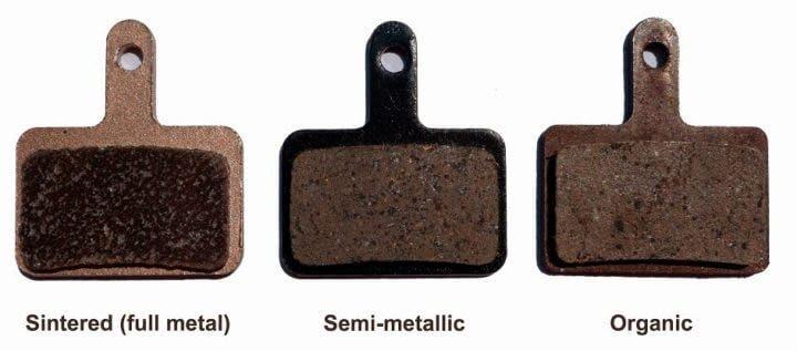 Tipos de pastilla de freno de bicicleta