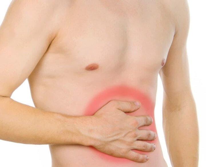 Evitar la hinchazón de los abdominales