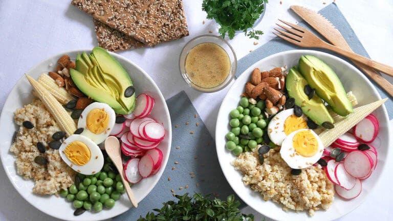Recetas en boles saludables para almorzar