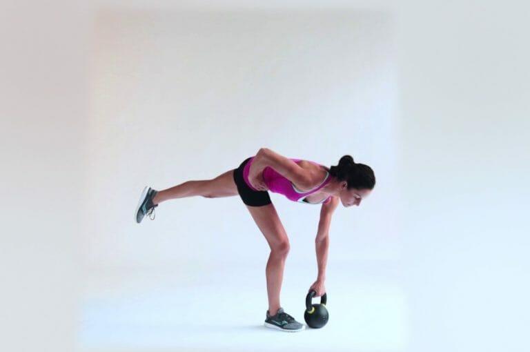 4 ejercicios unilaterales de pierna para fortalecer los glúteos de runners