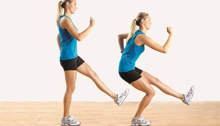 Ejercicios unilaterales de pierna para fortalecer glúteos