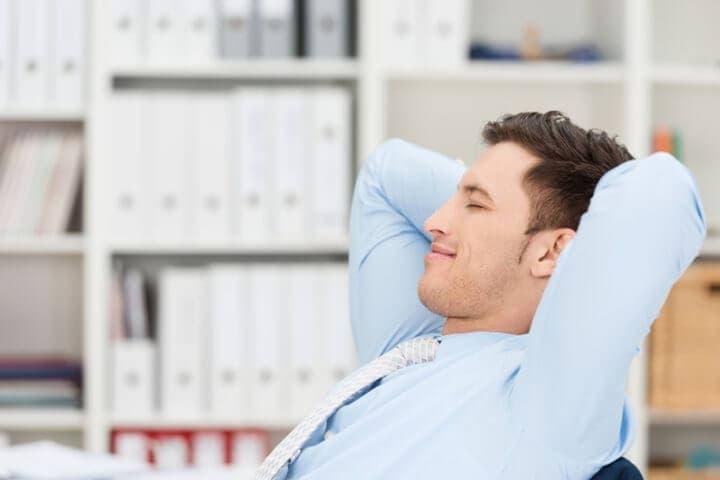 Técnica de relajación efectiva para aliviar el estrés