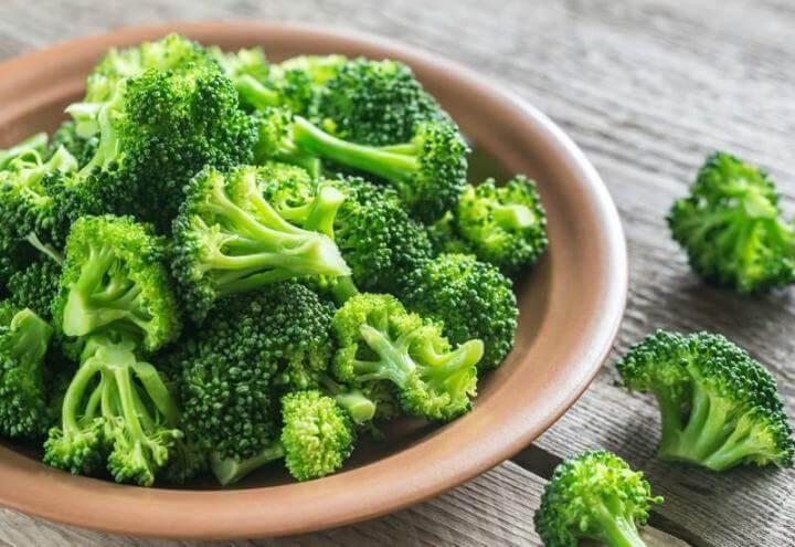 El brócoli puede aportar una alta cantidad de fibra soluble