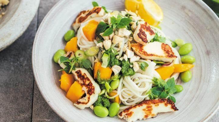 Recetas de cenas saludables con mango