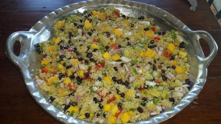 Receta innovadora de ensalada de quinoa