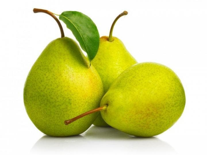 Las peras aportan fibra soluble a tu cuerpo