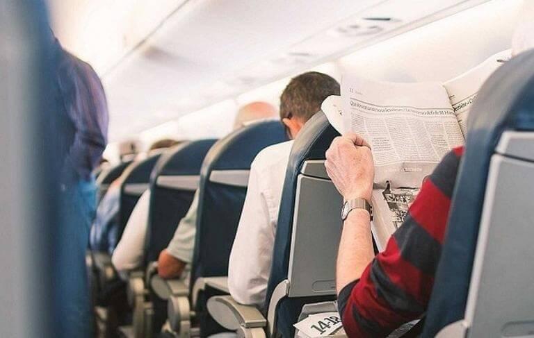 Reglas de convivencia básicas en un avión